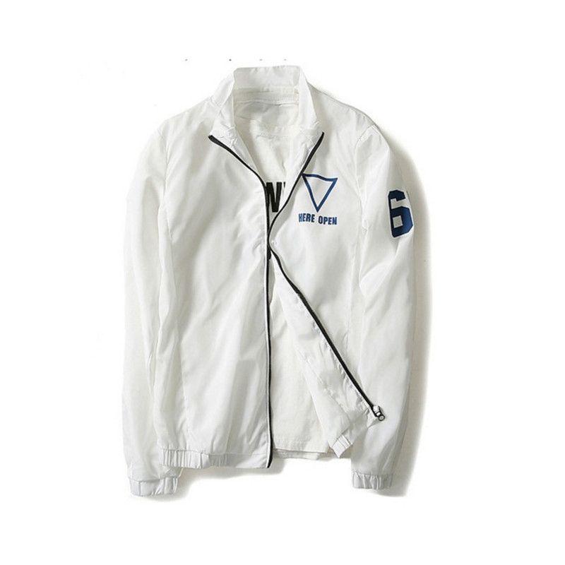 Для мужчин и Для женщин ветровка весна-лето 2017 г. Новая модная куртка Для мужчин с капюшоном повседневные куртки мужской пиджак пальто тонки...