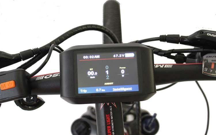 ConhisMotor Ebike 24/36/48V LCD TFT 750C Color Display Available Electric Bike BAFANG Mid Drive Motor BBS01 BBS02 BBS03 BBSHD
