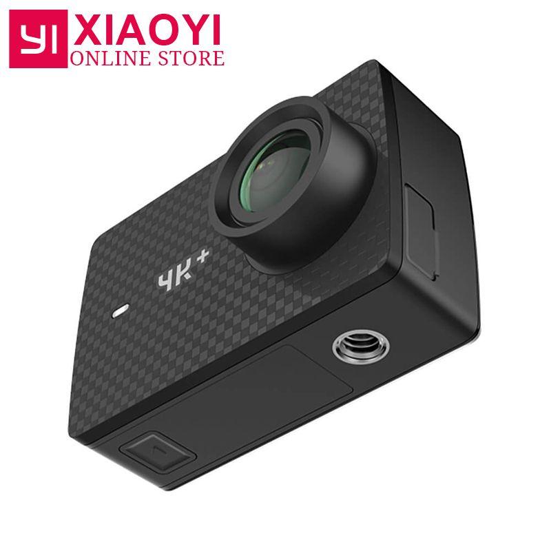 [International Edition] YI 4K Plus Action Camera 4K+ Sports Action Camera 155 Degree 2.19