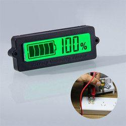 12 V 24 V 36 V 48 V LCD de voiture Au Plomb Acide Batterie Au Lithium Capacité Indicateur Numérique Voltmètre Tension Testeur