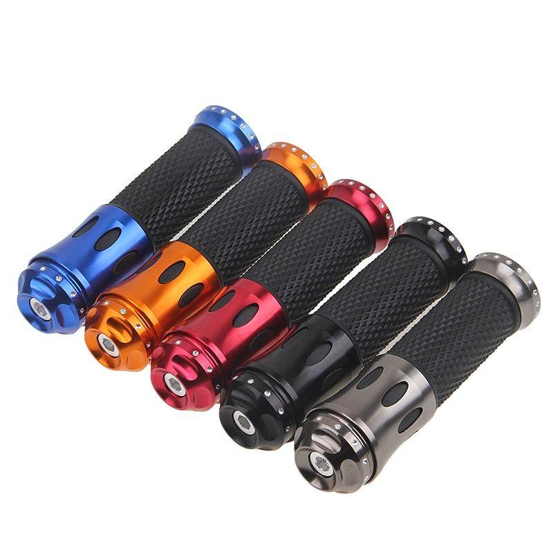 New 2 Pcs/Lot Universal CNC Aluminum Motorcycle Accessories 22mm 7/8