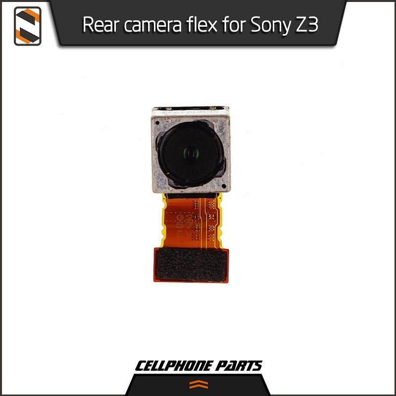 For Sony Xperia Z3 D6653 D6633 D6603 Rear Back Camera Lens Main Flex Cable Big Camera Module Repair Parts