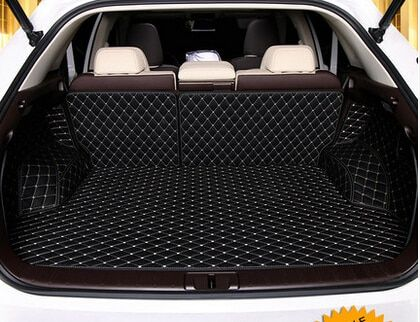 Newly! Special car trunk mats for Lexus RX 200t 2017 waterproof boot carpets cargo liner mats for RX200t 2016,Free shipping