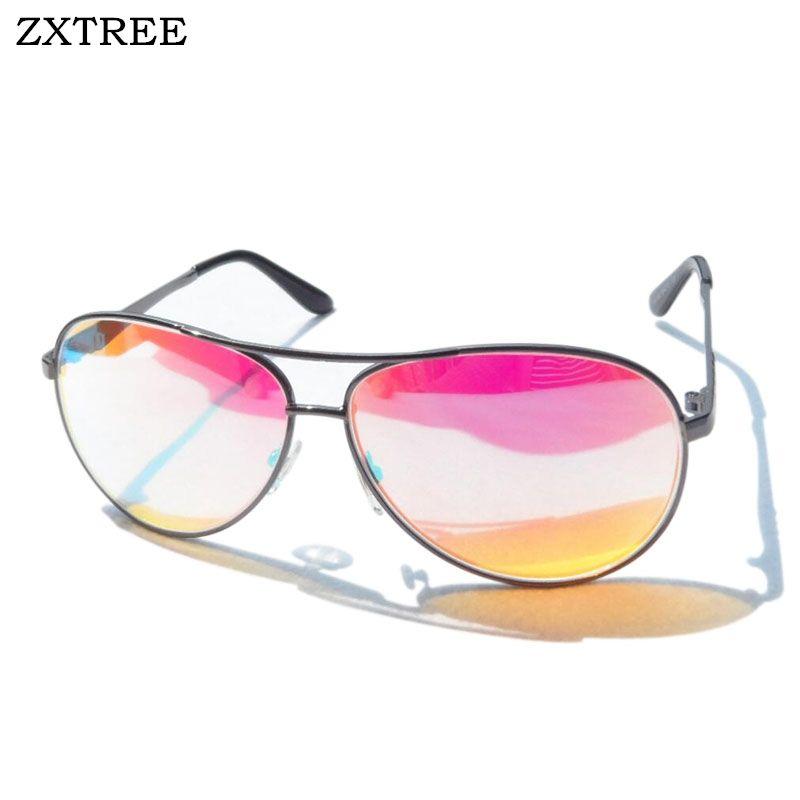 ZXTREE 2018 Fashion Red Green Color Blindness Glasses Correction Women Men Driver Glasses Colorblind Blind Card Sunglasses Z402