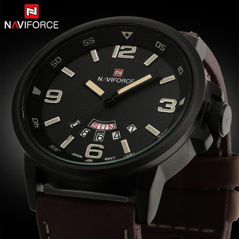relogio masculino Luxury Brand fashion Business Quartz watch <font><b>Men</b></font> sport Watches Military Watch <font><b>Men</b></font> Leather Strap army wristwatch