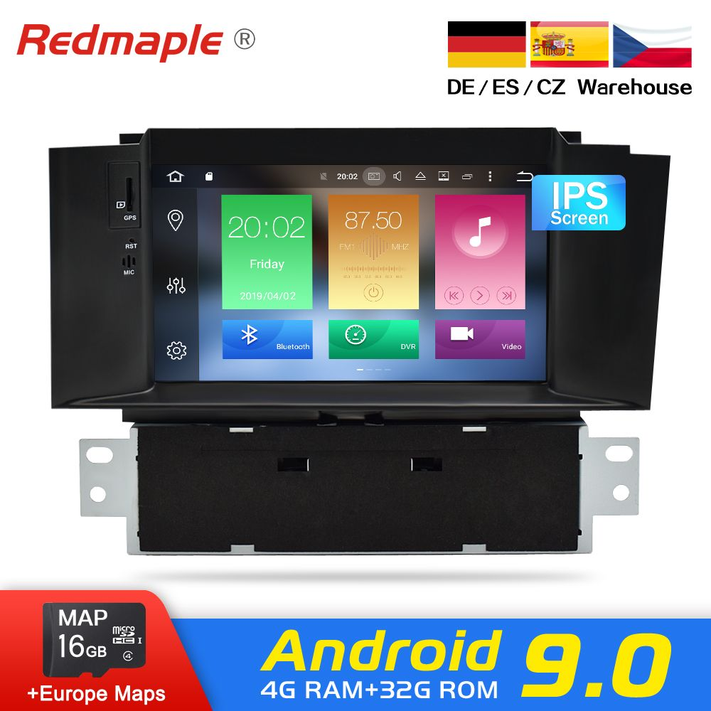 4G RAM Android 9.0 Auto Radio DVD GPS Navigation Multimedia Player Für Citroen C4 C4L DS4 2011-2016 Auto audio WIFI Video Stereo
