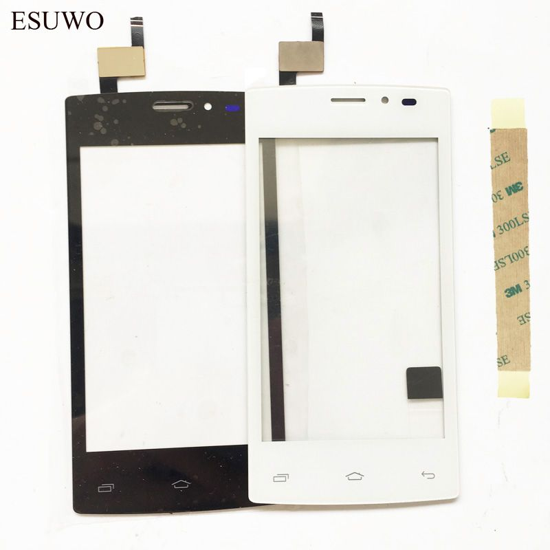 ESUWO Touch Screen Sensor Glass For Tele2 mini Touch Screen Digitizer Front Glass Lens Panel Touchscreen Parts