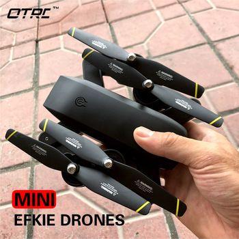 RC Dron otrc m107 Mini Foldable Selfie Drone with Wifi FPV 0.3MP or 2MP Camera Altitude Hold Quadcopter rc drones hd