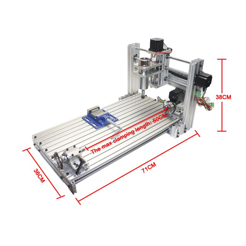High-quality DIY mini cnc Milling engraving machine 3060 USB port 6030 with ER11 collet cnc router