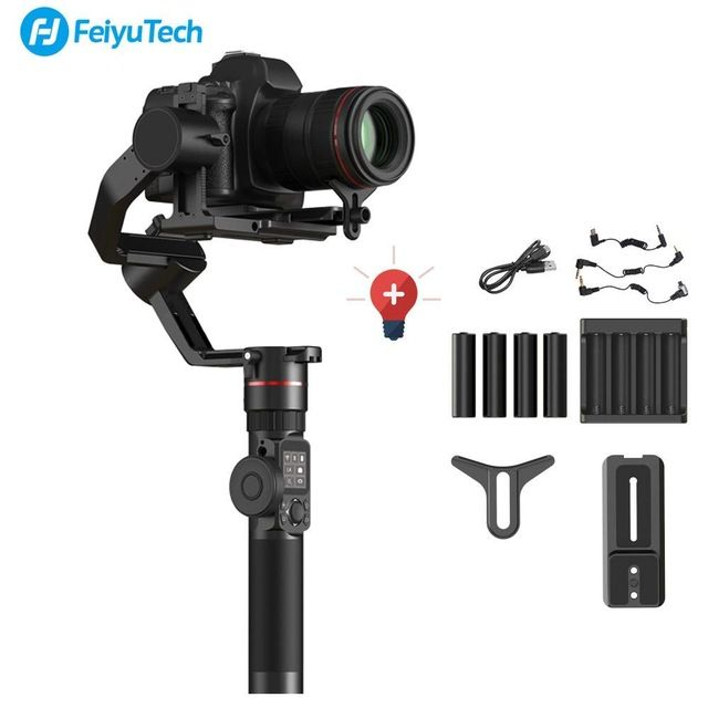 FeiyuTech Feiyu AK2000 3-Achse Handheld Kamera Stabilisator 2,8 kg laden Gimbal für Sony Canon 5D 6D Mark Panasonic GH5 Nikon D850