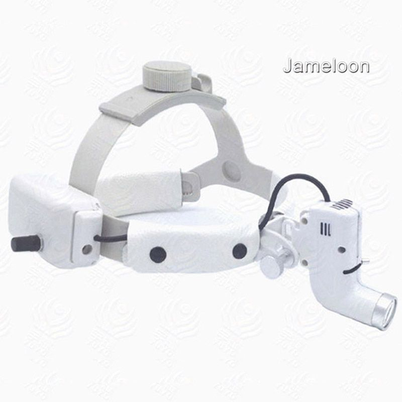 surgical headlight medical led light loupe magnifier head lamp adjustable high intensity operation chargeable dental headlamp
