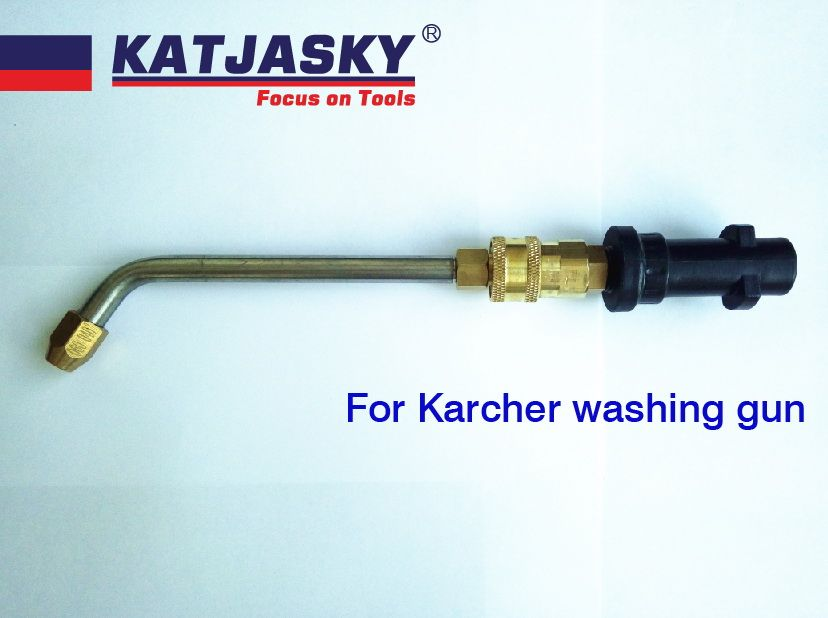 bent nozzle fit Karcher K2K7 washer gun washing air condition bent 60 degree,outlet hole dia.060 40 degree high pressure washing