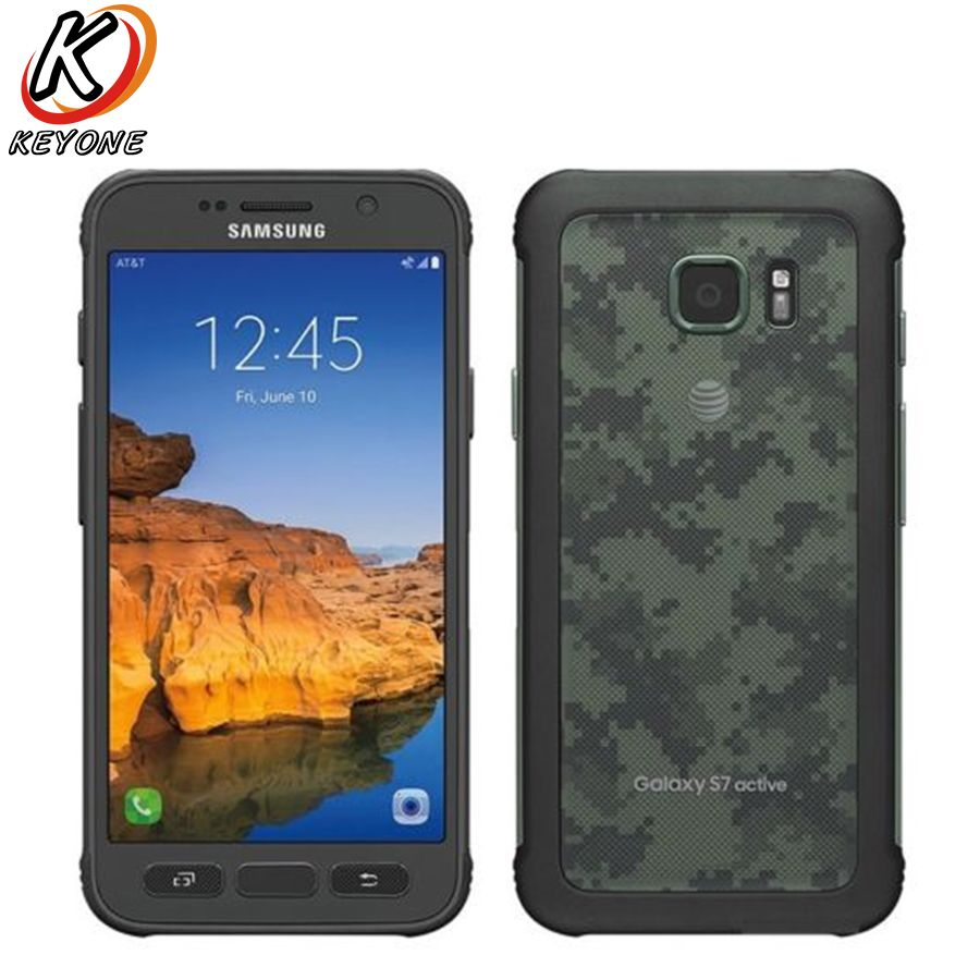 Original New Samsung Galaxy S7 active G891A Mobile Phone 5.1