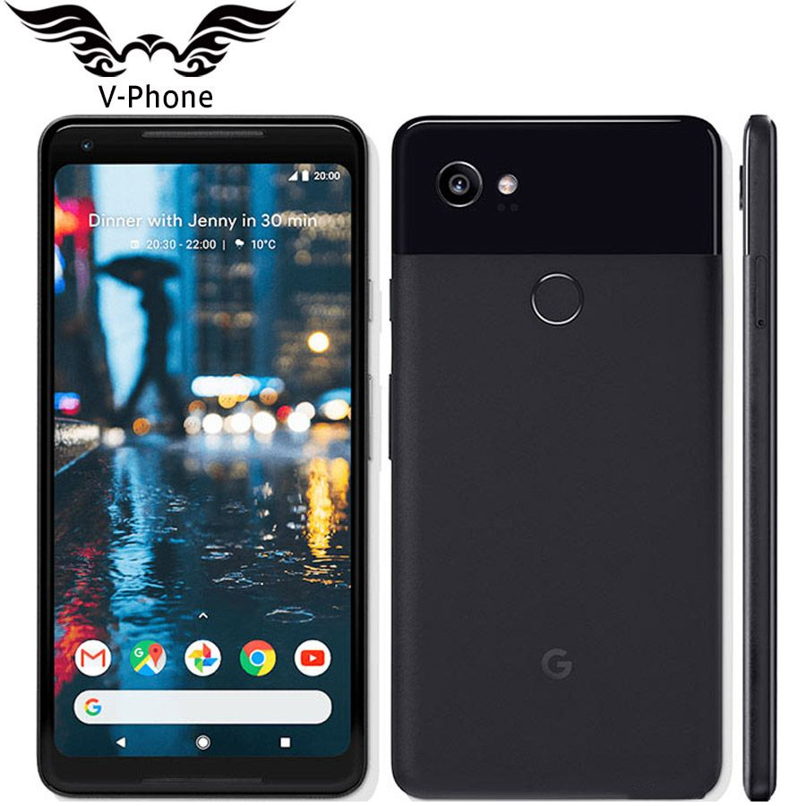 Original US Version Google Pixel 2 XL Android Handy 6 Snapdragon 835 Octa Core 4g LTE 4 gb RAM 64 gb 128 gb ROM Fingerprint