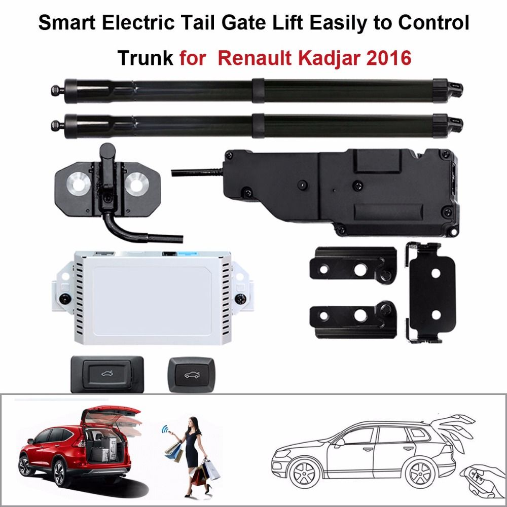 car accessories Electric Tail Gate Lift for Renault Kadjar 2016 Control by Remote