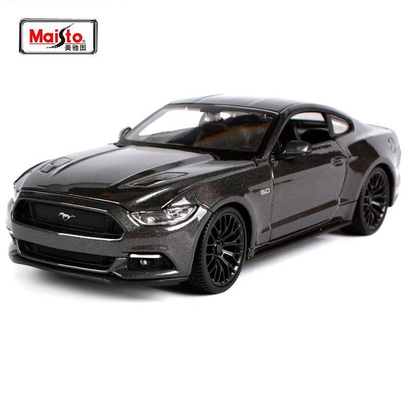 Maisto 1:24 2015 Ford Mustang GT 5.0 Classique Moderne Muscle Moulé Sous Pression Modèle De Voiture Jouet Neuf Dans la Boîte Livraison Gratuite 31508