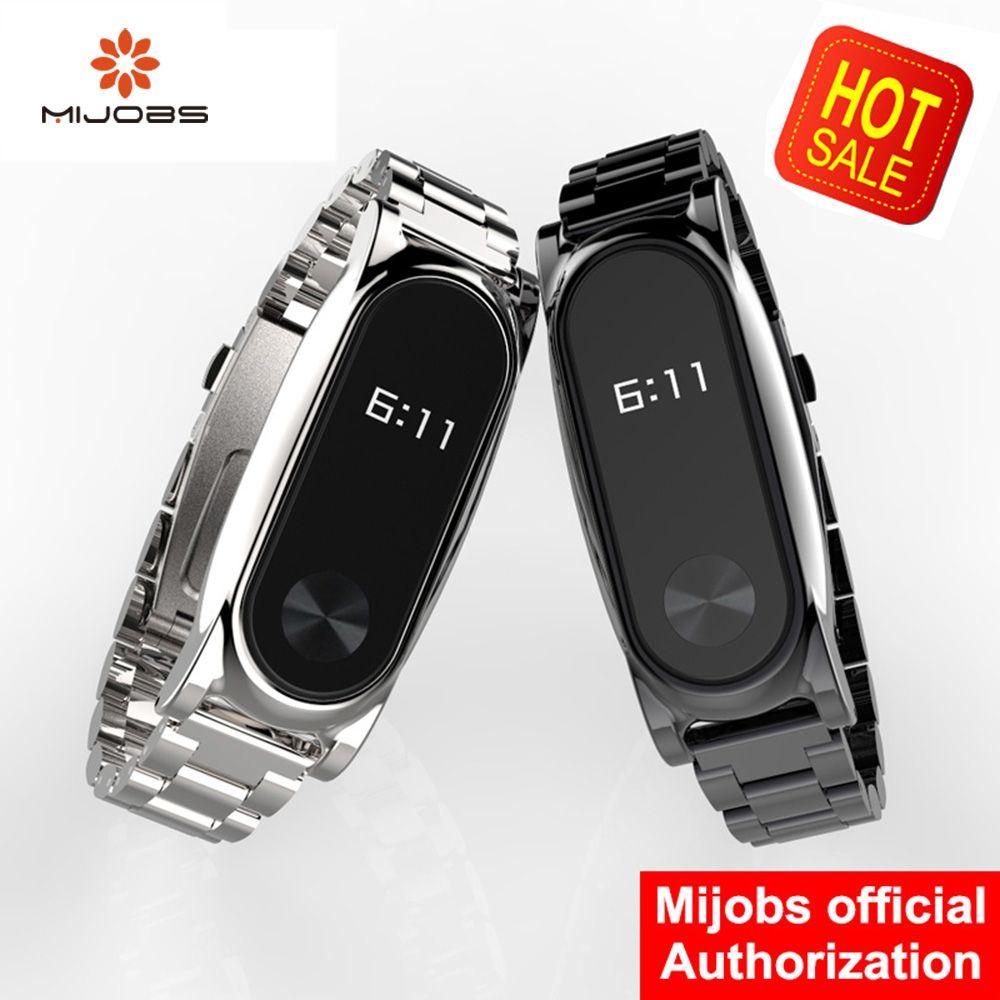 Mi Wriststraps Metall Für Xiaomi Mi Band 2 Schraubenlose Edelstahl Armband Armband Smart Band Ersetzen Für Mi Band 2