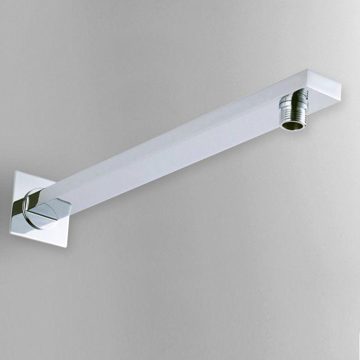 Бесплатная доставка 40 см 304 Нержавеющаясталь Chrome площадь настенные руку тропический душ для Насадки для душа душ Интимные аксессуары sa006-1