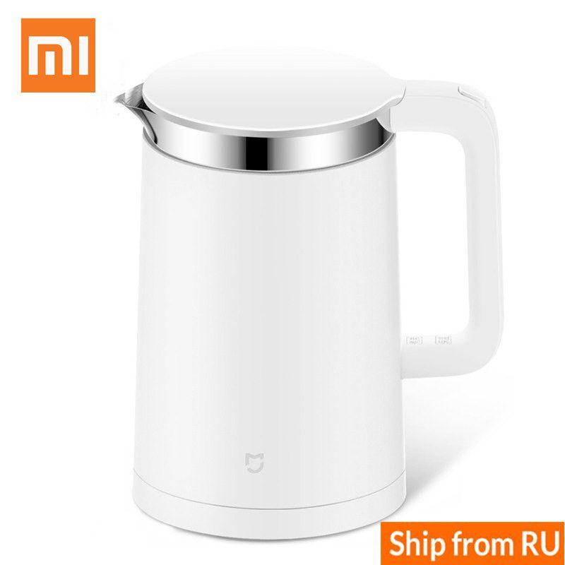 Xiaomi Wasserkocher Mijia Smart wasserkocher 1.5L Control durch Handy App 12 Stunden Thermostat Elektrische Wasserkocher