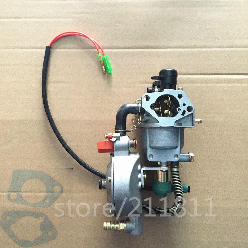 GPL carburateur pour L'ESSENCE au GPL NG CONVERSION KIT, kit de conversion AU GPL pour génératrice à essence 5KW/6KW 188F 190F AUTO STARTER