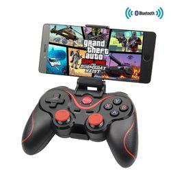 Bluetooth X3 Беспроводной контроллер T3 геймпад с подставкой Держатель для ПК Android геймпад игровой пульт пульта для PS3 консоли