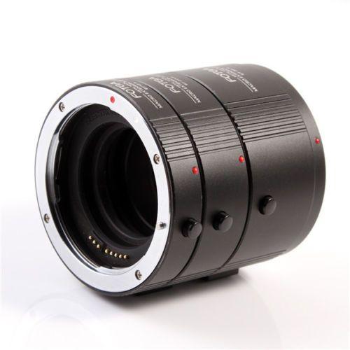 Tube d'extension automatique en métal FOTGA DG pour objectif CANON EF EFS 13mm 20mm 36mm