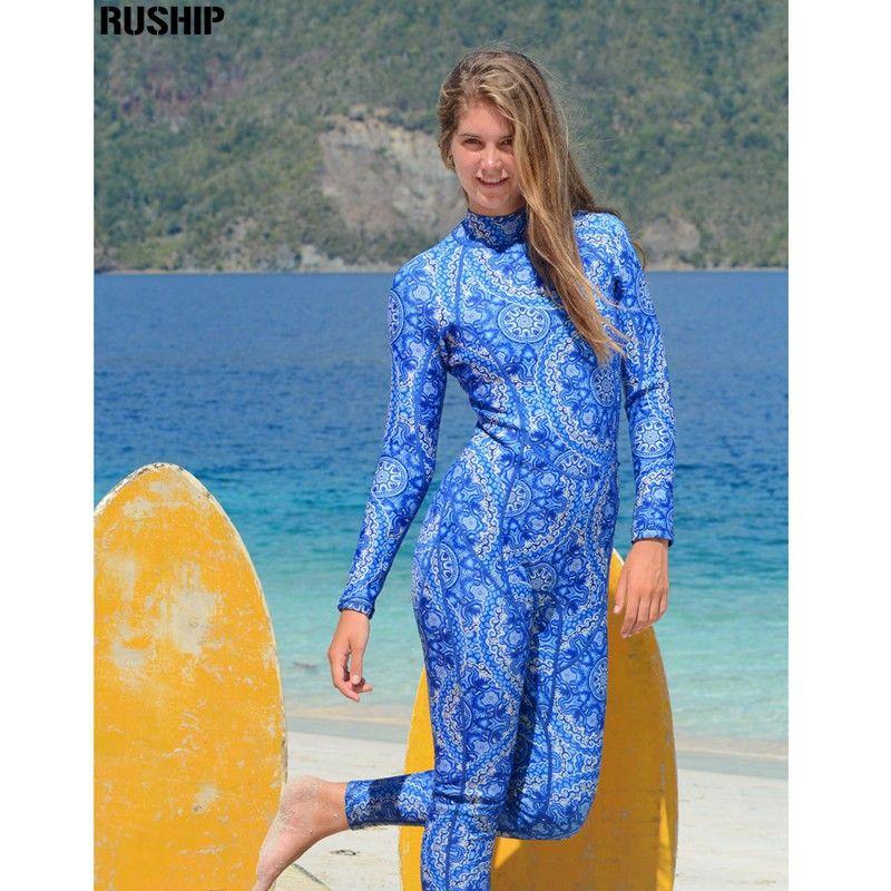 SEAC 3mm Frauen Neopren druck Elastische Neoprenanzug Tauchausrüstung Ein Stück voller bodysuit Badeanzug neoprenanzug taucheranzug