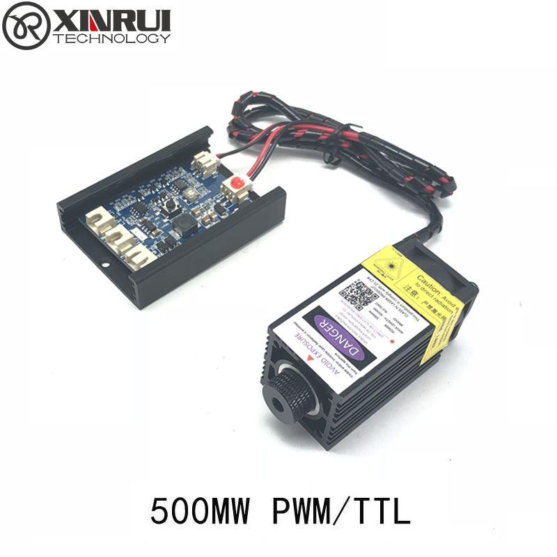 500mw 405NM focusing blue purple laser module laser engraving TTL module 500mw laser tube Laser module diode