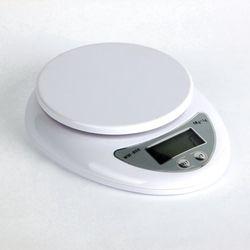 Envío libre! 5 kg 5000g 1g digital de Cocina Comida dieta postal Básculas equilibrio peso LED electrónico Básculas