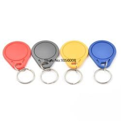 10pcs/lot UID Changeable NFC IC tag rfid keyfob token 1k S50 13.56MHz Writable ISO14443A