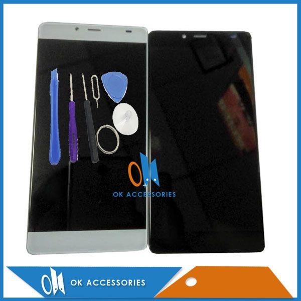 Black White Color For Elephone S3 LCD Screen Display+Touch Screen Digitizer With Tools 1PC /Lot