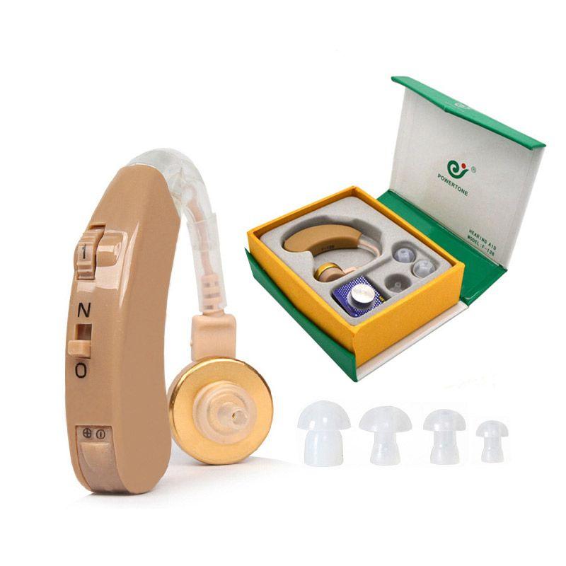 BTE aide auditive amplificateur de son vocal AXON F-138 aides auditives derrière l'oreille réglable soins de santé