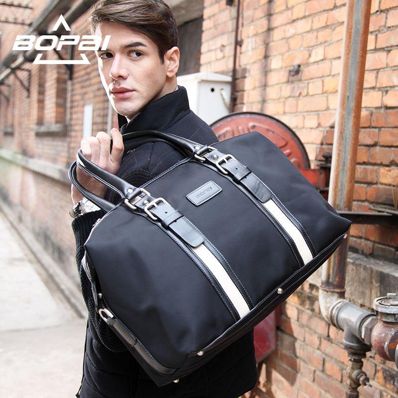 Bopai модный бренд Для мужчин Дорожные сумки большой Ёмкость 20l Для женщин Чемодан Duffle Сумки Оксфорд складной мешок для поездки Водонепроница...