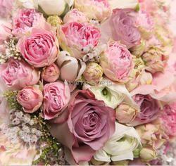 R-2832 красочная розовая пленочная фотоформа потолочная подходит для настенной бумаги или потолочного украшения