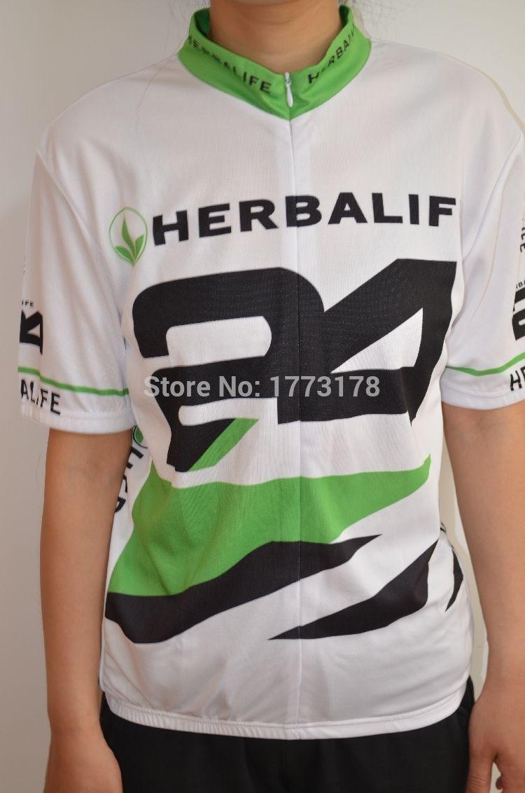HERBALIFE 24 Colores Elegir Pro Cycling Jerseys Ropa Ciclismo/Ropa Ciclismo Transpirable/Quick-Dry GEL Pad Montaña HERBALIFE
