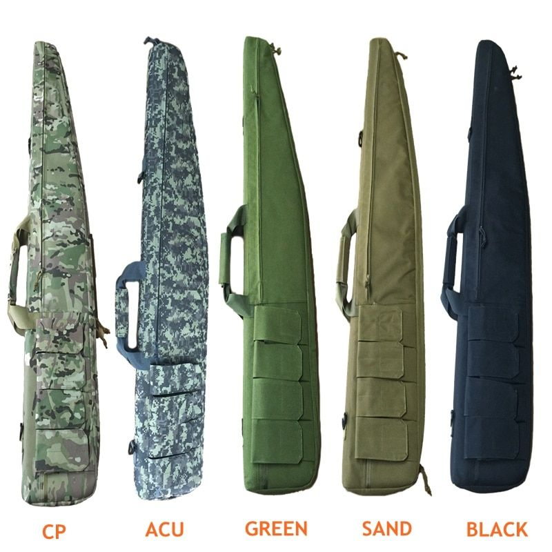 120cm Hunting Rifle Bag Outdoor Tactical Carrying Gun Bags Military Combat Gun Shoulder Case For Shooting