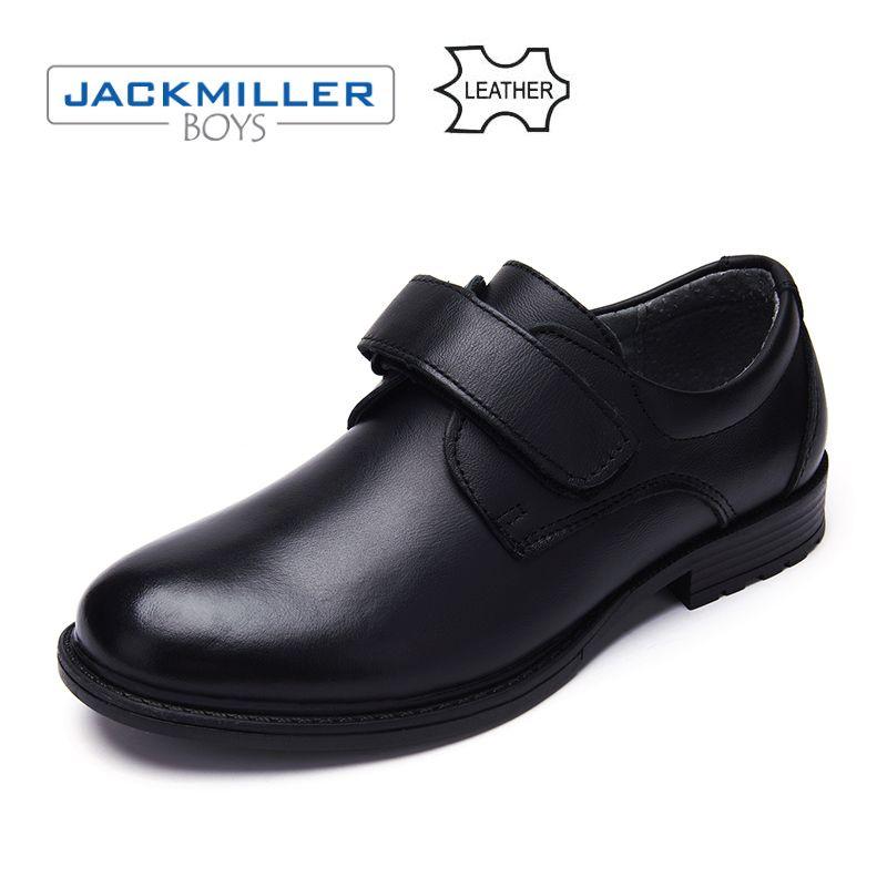 Jackmillerboys Schule Studenten Schuhe Klassische oxfords echtem Leder Kinder Schuhe Für Jungen Wohnungen Kleid Schuhe Schwarz größe 32-37
