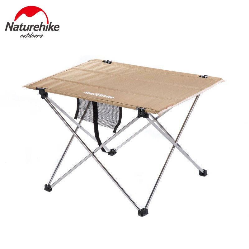 Naturehike Aluminium Alloy Table Portable Picnic Table Outdoor Foldable Table Fishing Leisure Table NH15Z012-L