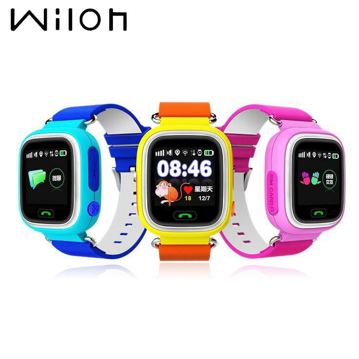 Kids watches GPS <font><b>tracker</b></font> Watch Wifi Q90 G72 touch screen SOS call location Device smart watch Anti Lost Monitor Children clock