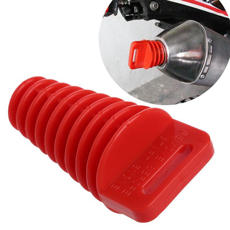 Motorcycle Dirt Bike 4 Stroke Muffler Pipe Exhaust Silencer Wash Exhaust Plug