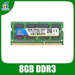 DDR3 8 GB RAM DDR SODIMM 3 4 GB 1600 1333 para Intel AMD memoria RAM del ordenador portátil a estrenar