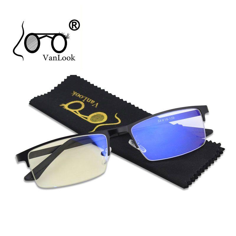 Lunettes de blocage de la lumière bleue des hommes pour les lunettes d'ordinateur Blaulicht Protection de jeu lunettes de rayon bleu Anti rayonnement antiéblouissant
