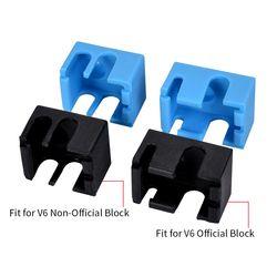 Bigtreetech Nouveau V6 Silicone Stock 3D imprimante Soutien V6 D'origine J-tête 1.75/3.0mm Bowden et directe extrudeuse RepRap 3D imprimante