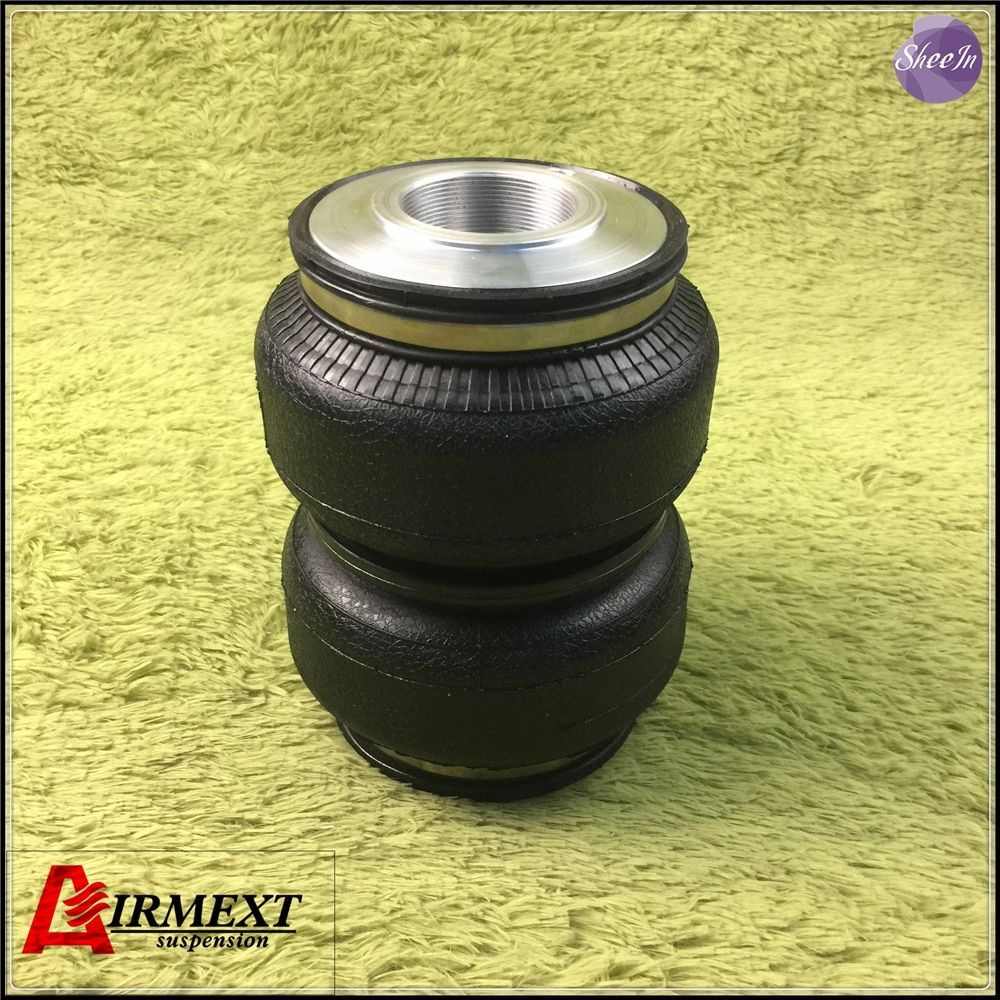 SN142187BL2-JM1-S/ Airlift 5813Fit JOM coilover(Thread M54*1.5-52)/Air suspension bellows airspring pneumatic /airbag