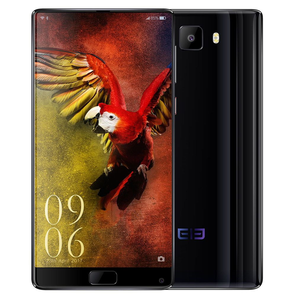 Elephone S8 6.0'' 2K Screen Deca Core Mobile Phone 4G Android 7.1 Helio X25 2.5GHz 4GB+64GB 21MP+8MP Dual Cams Fingerprint Phone