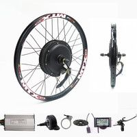 70 км/ч/В ч 72 в 2000 Вт заднего колеса мотор электрический велосипед комплект Электрический велосипед конверсионный комплект