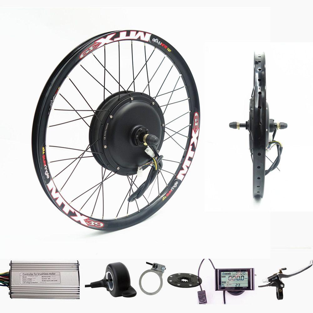 Kit de Conversion de vélo électrique de Kit de vélo électrique de moteur de roue arrière de 70 km/h 72 v 2000 W