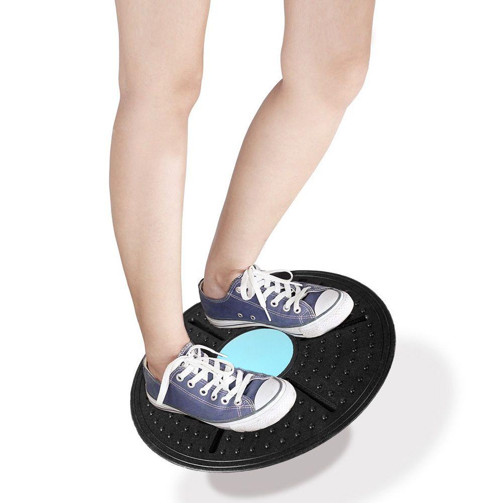 Tableau d'équilibre de forme physique 360 degrés Rotation disque de Massage plaques rondes conseil Gym taille tordant l'exercice 160kg couleur aléatoire