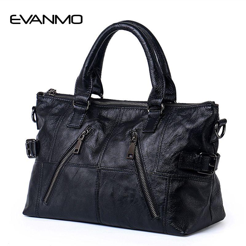 Large Capacity 2017 New Hot Sale Black Tote Bag Cowhide Patchwork Shoulder Bag Women Genuine Leather Handbag Female Travel Bags