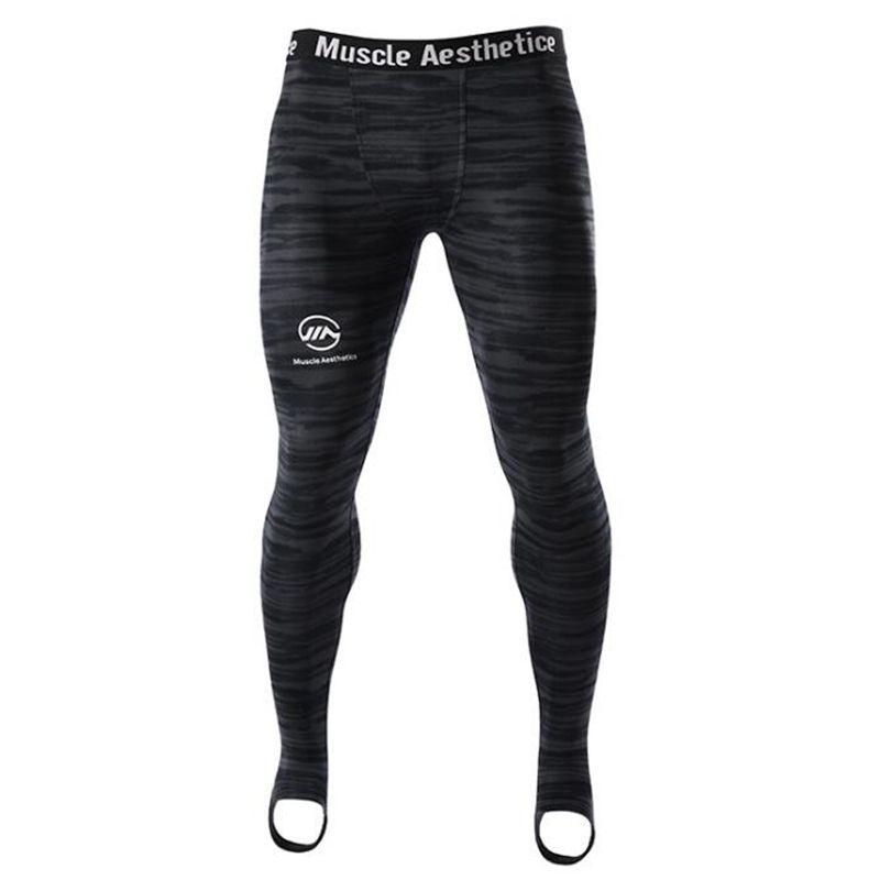Collants de Compression pour hommes Leggings Sport de course pantalons de Fitness pour hommes pantalons à séchage rapide entraînement de Yoga pantalons de survêtement MMA